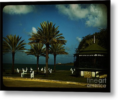 the coast of Puerto Rico Metal Print by Celestial Images