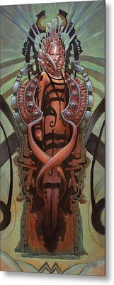 The Coffin Bloom  Metal Print by Ethan Harris