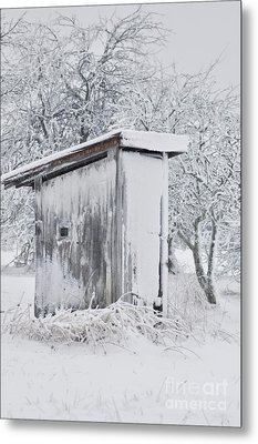 The Coldest Fifty Yard Dash Metal Print by Benanne Stiens