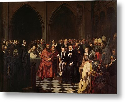 The Colloquy Of Poissy Metal Print
