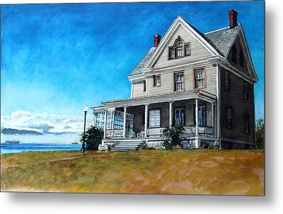 The Colonel's House Metal Print by Perry Woodfin