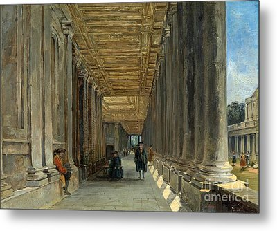 The Colonnade Of Queen Mary Metal Print
