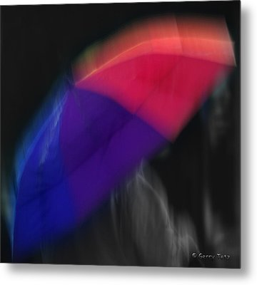 The Color Of Rain Metal Print