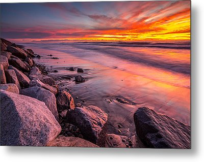The Color Of Twilight Metal Print by Peter Tellone
