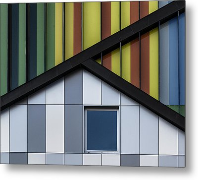 The Color Symphony Metal Print by Jef Van Den
