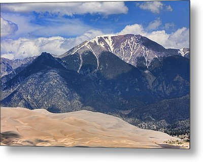 The Colorado Great Sand Dunes  125 Metal Print by James BO  Insogna