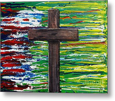 The Colors Of My Father's Heart Metal Print