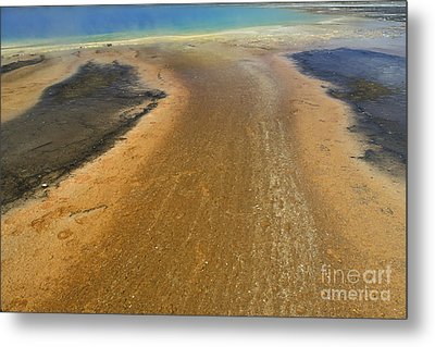 The Colors Of Yellowstone Metal Print by Stan and Anne Foster