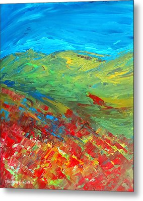 The Colour Of Summer Metal Print by Elizabeth Kendall