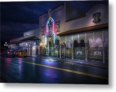 The Columbia Of Ybor Metal Print by Marvin Spates