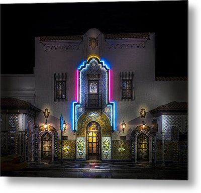 The Columbia Restaurant Metal Print by Marvin Spates