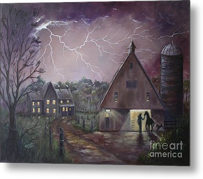 The Coming Storm Metal Print by Marlene Kinser Bell