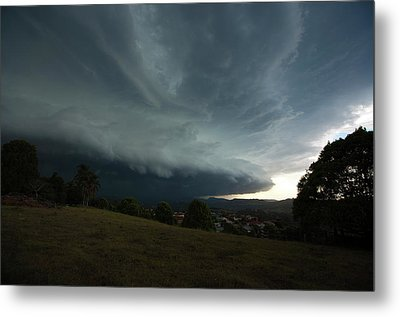 Metal Print featuring the photograph The Coming Storm by Odille Esmonde-Morgan