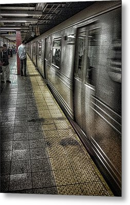 The Commute Metal Print