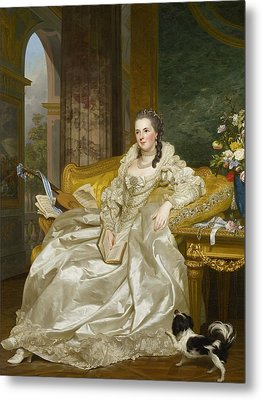 The Comtesse D'egmont Pignatelli In Spanish Costume Metal Print