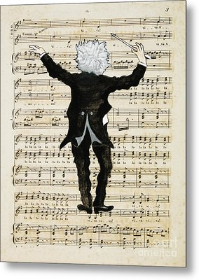The Conductor Metal Print by Paul Helm