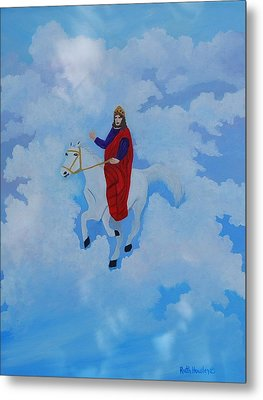 The Conqueror And King Metal Print by Ruth  Housley