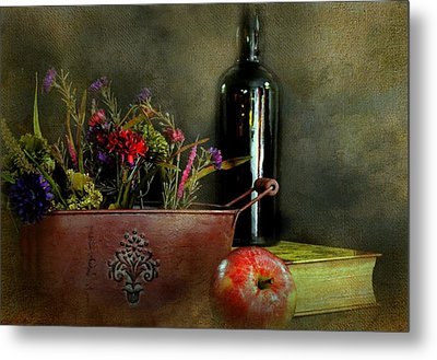 The Copper Planter Metal Print by Diana Angstadt