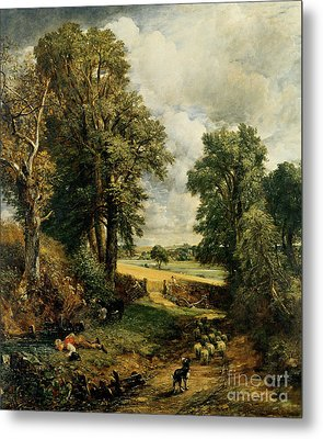 The Cornfield Metal Print by John Constable