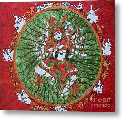 The Cosmic Dancer Metal Print