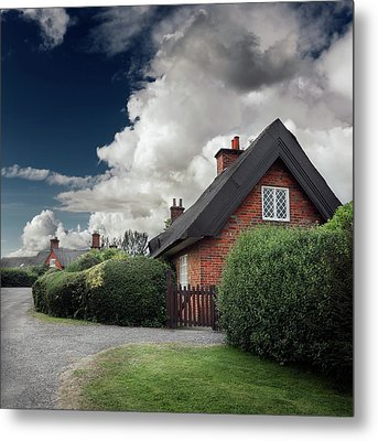 The Cottage Metal Print by Ian David Soar