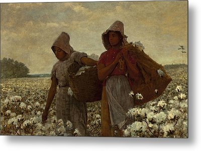 The Cotton Pickers Metal Print