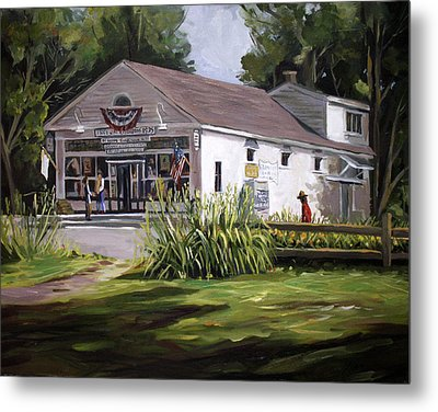 The Country Store Metal Print by Nancy Griswold