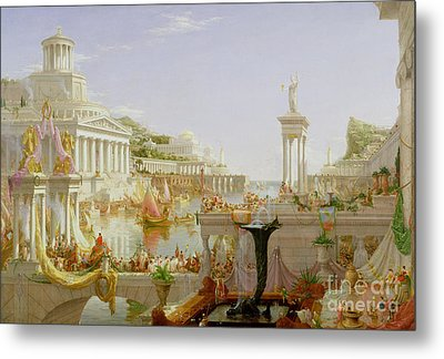 The Course Of Empire - The Consummation Of The Empire Metal Print