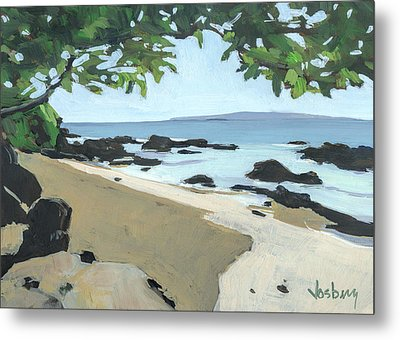 The Cove Metal Print by Stacy Vosberg