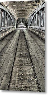 The Covered Bridge Metal Print
