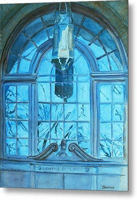 The Craftsmen Lantern Metal Print by Jenny Armitage