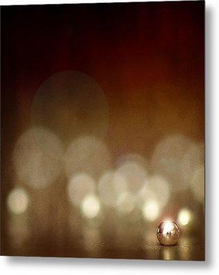 The Crimp Bead Metal Print