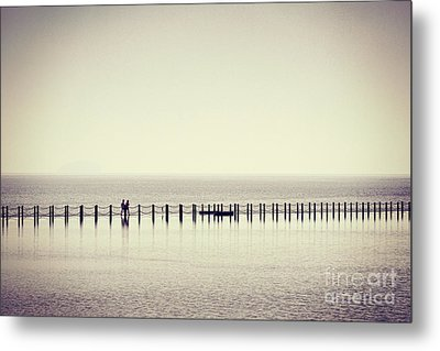 The Crossing Metal Print by Colin and Linda McKie