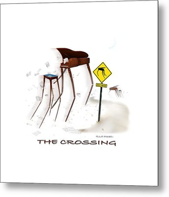 The Crossing Se Metal Print by Mike McGlothlen