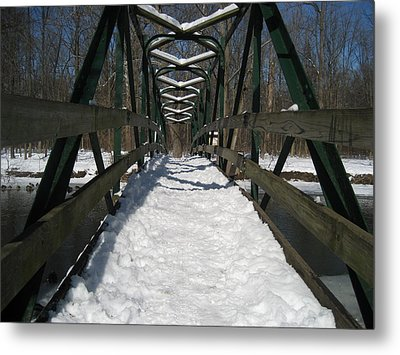 The Crossing Metal Print by Sheryl Burns