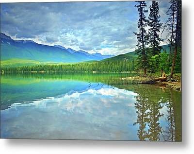 Metal Print featuring the photograph The Crystal Waters Of Lake Annette by Tara Turner