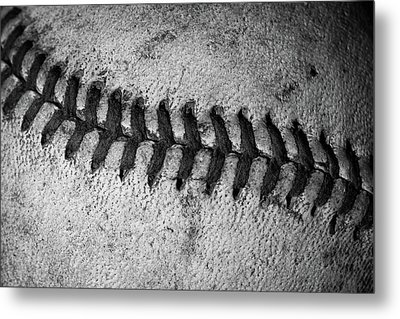 The Curve Ball Metal Print by David Patterson