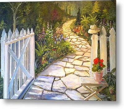The Cutting Garden Metal Print