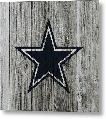 The Dallas Cowboys C2                              Metal Print by Brian Reaves