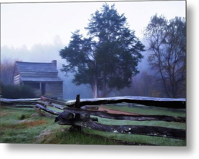 Metal Print featuring the photograph The Dan Lawson Place by Lana Trussell
