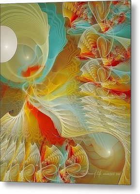 The Dance Of Life Metal Print by Gayle Odsather
