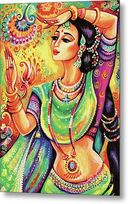 Metal Print featuring the painting The Dance Of Tara by Eva Campbell