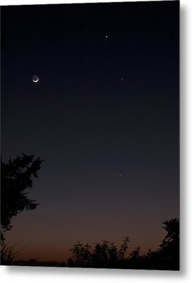 Metal Print featuring the photograph The Dance Of The Planets by Odille Esmonde-Morgan