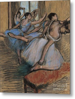 The Dancers Circa 1900 Metal Print