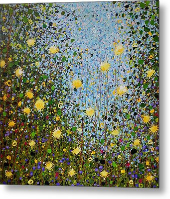The Dandelion Patch Metal Print