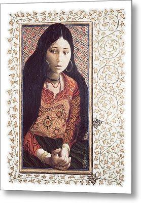 The Daughter Of Jairus - Lgdoj Metal Print by Louis Glanzman