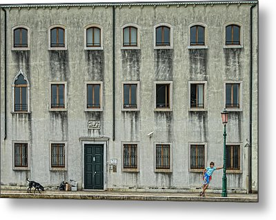 The Day Nothing Happened Metal Print by Piet Flour