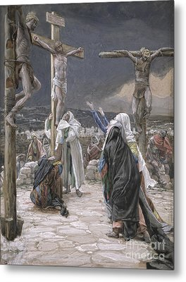 The Death Of Jesus Metal Print by Tissot