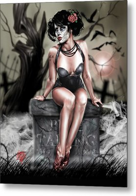 The Deaths Of Pete Tapang Metal Print by Pete Tapang
