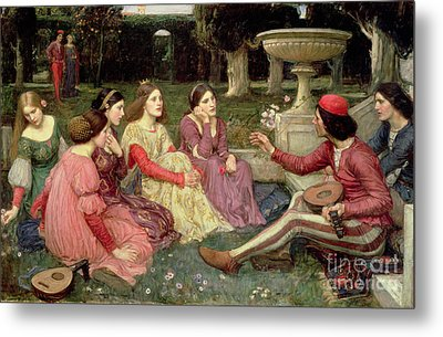 The Decameron Metal Print